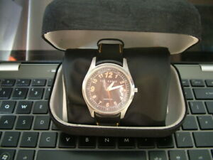 Ted Baker, Automatic, Mechanical Gents Wrist Watch. Excellent. Leather Strap.