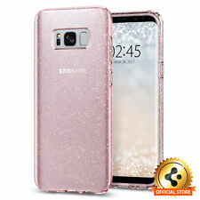 Spigen Galaxy S8 Plus Case Liquid Crystal Glitter Rose Quartz