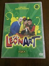LEONART VOL 2 FISICA - SERIE TV DVD SLIMCASE - 75MIN - NEW SEALED NUEVO EMBALADO
