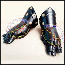 Medieval Gauntlets Iron Gloves Combat Gauntlet Metal Hand Glove New Year Gift