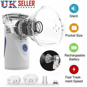 Portable Handheld Nebulize Ultrasonic Humidifier Respirator Mesh Machine Travel