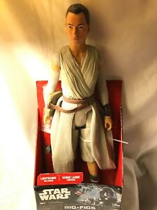 "Star Wars Big-Figs Rey Light saber The Force Awakens 18"" Action Figure"