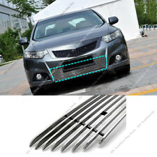 For Honda Acura TSX 2009-2010 k Metal Front Bumper Loewr Grille Grill Trim Cover
