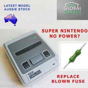 Super Nintendo SNES Replacement Pico Fuse for No Power Fix 1.5A Original Repair