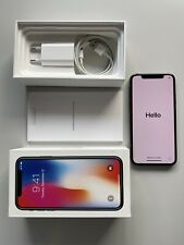 Apple iPhone X - 64GB - Space Grau - Guter Zustand