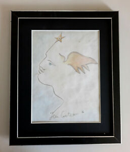 Dessin au crayons (Jean Cocteau)