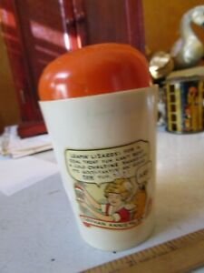 Orphan Annie Cold Ovaltine Shake-UP Mug Real Drink Good Tastin' Sticker Sandy