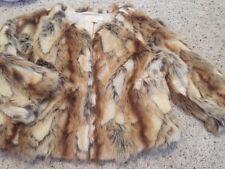 Michael Kors Faux Rabbit Fur Jacket Euc Sz L