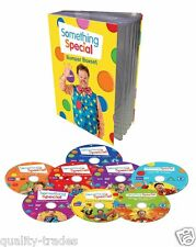 ❏ Something Special Bumper Box 8 Volume Set Mr Tumble DVD ❏ Makaton Sign