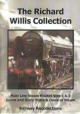 Richard Willis Dvd 1-4: BR Mainline Steam ECML WR SR GWR LNER LNWR GC Midlands