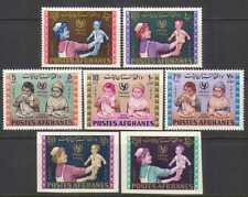 Afghanistan 1964 UNICEF/Health/Children 7v set (n25656)