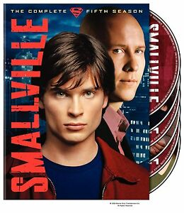 Brand New DVD Smallville The Complete Fifth Season Tom Welling Kristin Kreuk