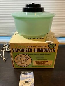 1960s Mid-Century Automatic Electric Vaporizer Humidifier Model 128 Original Box