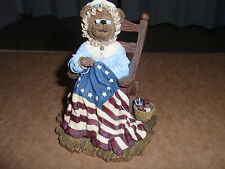 """Boyd'S Bears """"Betsy Rossbeary."""" 2002, A Stitch In Time. #2277911, Used!"""