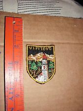 PATCH VIPITENO STERZING ITALY FLOWERS church cathedral tower bell clock tourist