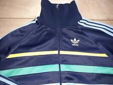 VINTAGE 1980s YUGOSLAVIA ADIDAS FIRST TRACKSUIT TOP S Europa ATP Gruber Ventex