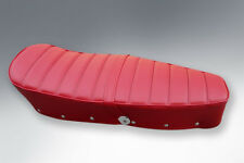 LAMBRETTA DUAL SEAT IN RED  RIBBED STYLE