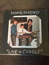 Live & Cuddly  Nomeansno Album Sealed New