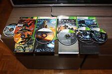 Lote Halo 1 2 3 Reach y OST XBox 360 Originales