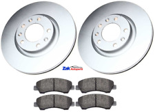 FOR PEUGEOT 308 1.2 1.5 1.6 HDI MK2 T9 15-17 FRONT BRAKE DISCS & PADS SET NEW