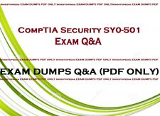CompTIA Security + SY0-501 Real Exam dumps Questions & Answers