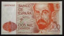 Espagne - 2000 Pesetas - 22 juillet 1980 - UNC