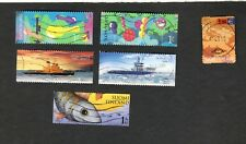 Asst lot Finland SC #1210 #1243a&d #1310a #1315b&e used stamps SHIPS FISH