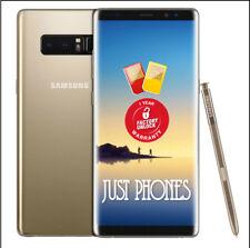Samsung Galaxy Note8 SM-N950 - 64GB - F/Unlocked Phone (Gold) BNIB + UK Warranty
