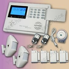 G1-08 Wireless GSM PSTN Home Security Burglar Alarm System Dual Network dialing