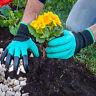 Gants de Jardinage avec 4 Griffes pour Creuser Semer Planter Jardiner Neuf