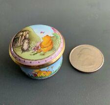 Vintage Disney Halcyon Days Winnie The Pooh Trinket Box!