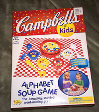 CAMPBELL'S FOR KIDS ~ ALPHABET SOUP GAME ~ NEW ~ 2003