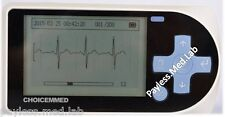 Portable Handheld ECG EKG -CHOICEMMED100-A15  - w ECG GEL- FDA Approved