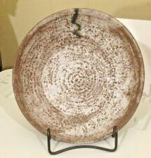 """NEW McCarty Pottery NUTMEG & CREAM GUMBO OR VEGGIE BOWL 7 1/2 """" HANDMADE NEW!"""