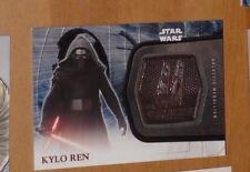 Topps STAR WARS Force Awakens Serie 2 Card MEDALLION 1 KYLO REN Carte Rare