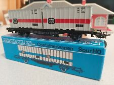 New Marklin HO Scale 4664 Container Support Wagon DB Germany