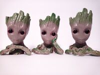 Guardians of Galaxy Baby Groot Tree Man  Flower Pot Groot Planter Pen Container