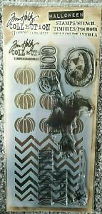 Tim Holtz Happy Halloween Clear Stamps