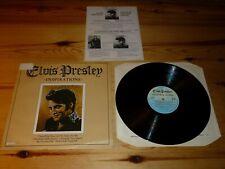 ELVIS PRESLEY - INSPIRATIONS VINYL ALBUM LP RECORD 33rpm EXCELLENT++