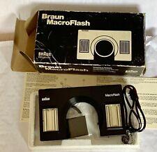 Vintage Braun Macro Flash