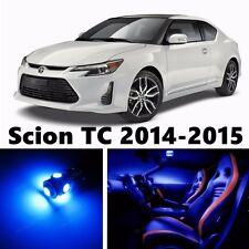 10pcs LED Light Interior Package Kit for Scion TC 2014-2015 ( Blue )