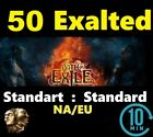 50 Exalted Orb - STANDARD EU/NA Path of Exile Standart  - POE Softcore League