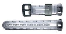Casio Baby-G BG-169A, BG-169R Cinturino Orologio 10148912-Grigio traslucido
