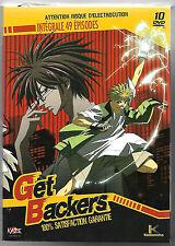 GET BACKERS - INTEGRALE 49 EPISODES COFFRET 10 DVD (KAZE) RARE
