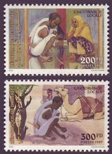 Dijbouti Gibuti 1997 fortune telling, MNH, SC 766/67, mer 635/36, cv € 160