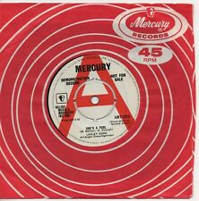 LESLEY GORE she's a fool*the old crowd 1963 UK MERCURY DEMO 45