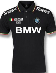 polo uomo BMW tricolore nome personalizzato ricamato maglietta felpa t shirt