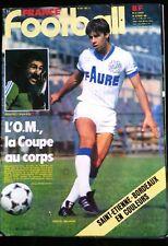 France Football du 30/03/1982; Marseille-PSG/ Bordeaux-Saint-Etienne/ Coutinho G