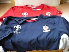 2 England Football Shirts Of Euro 2016 Sized XL Both Are Official Licensed Prod.