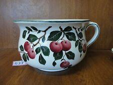#1) Large Vintage Wemyss Chamber Pot / Potty / Planter - Cherries